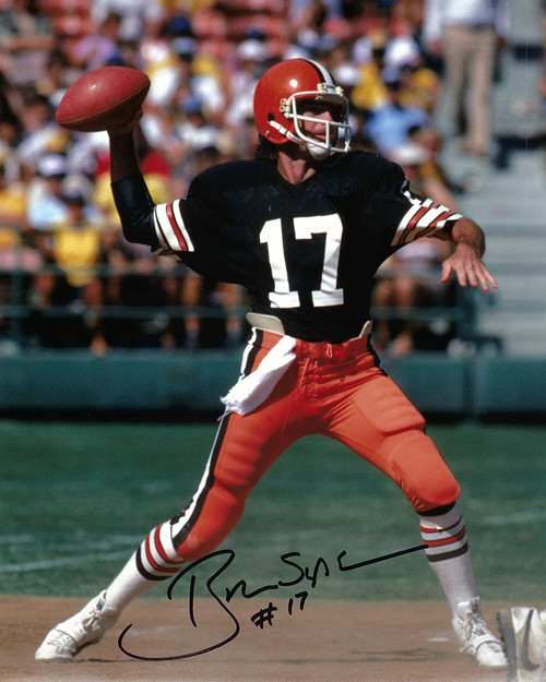 Brian Sipe 8-3 8x10 Autographed Photo - Certified Authentic