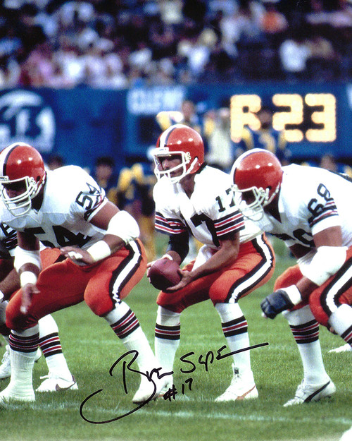 Brian Sipe 8-4 8x10 Autographed Photo - Certified Authentic