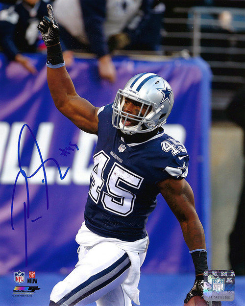 Rod Smith Cowboys 8-2 8x10 Autographed Photo - Certified Authentic