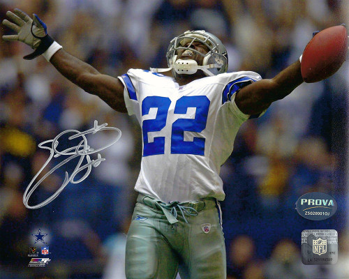 Emmitt Smith Cowboys  8-1 8x10 Autographed Photo - Certified Authentic
