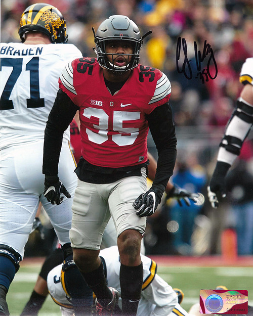 Chris Worley 8-1 8x10 Autographed Photo - Certified Authentic