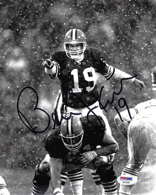 Bernie Kosar Browns 8-1 8x10 Autographed Photo - PSA Authentic