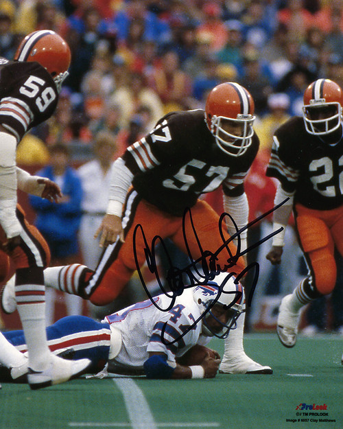 Clay Matthews Cleveland Browns 8-6 8x10 Autographed Photo - Certified Authentic