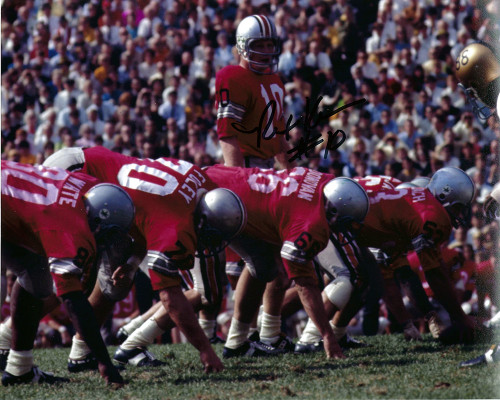 Rex Kern OSU 8-4 8x10 Autographed Photo - Certified Authentic