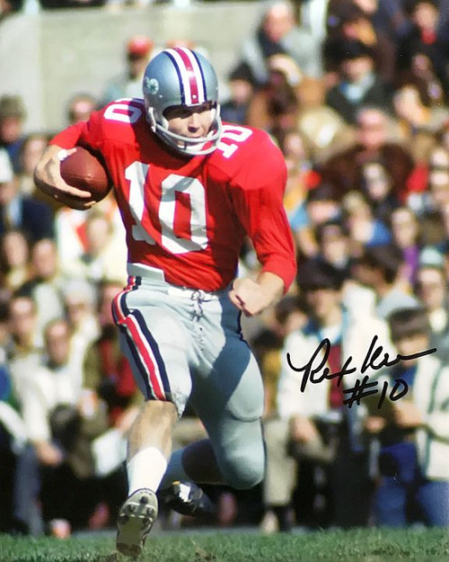Rex Kern OSU 8-6 8x10 Autographed Photo - Certified Authentic