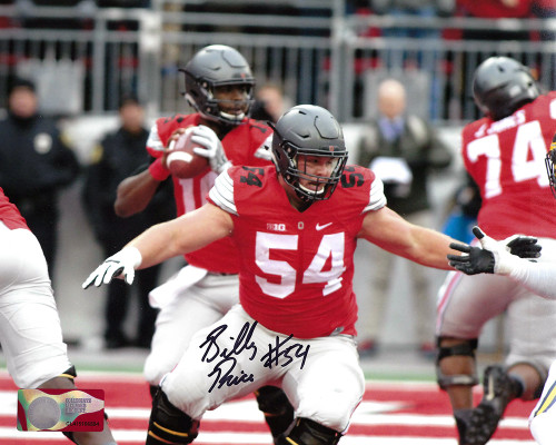 Billy Price OSU 16-2 16x20 Autographed Photo - Certified Authentic
