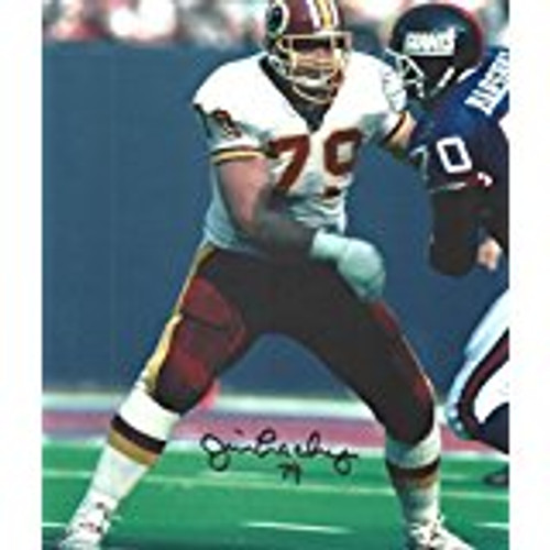 Jim Lachey Washington Redskins 8-2  8x10 Autographed Photo - Certified Authentic