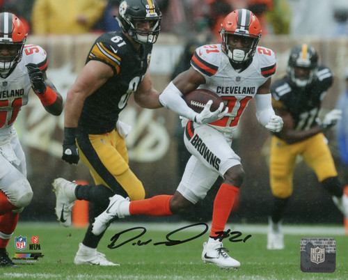 Denzel Ward Cleveland Browns 8x10 Autographed Photo (8-1) - Certified Authentic