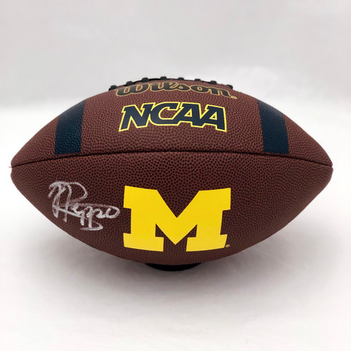 Jabrill Peppers Cleveland Browns Supergrip Autographed Football - Certified Authentic