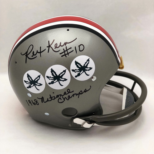 Rex Kern OSU TB Autographed Replica Helmet - Certified Authentic