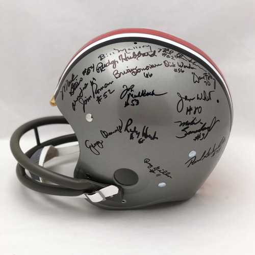 1968 Team OSU Autographed Replica Helmet - Certified Authentic