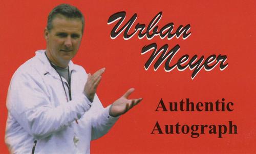 Urban Meyer OSU Autographed Replica Helmet - Certified Authentic