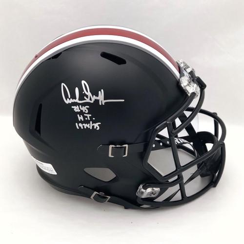 Archie Griffin OSU Black Autographed Replica Helmet - Certified Authentic