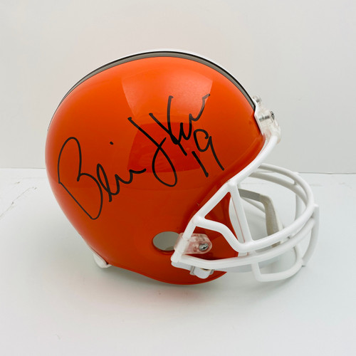 Bernie Kosar Cleveland Browns Autographed Replica Helmet - Certified Authentic