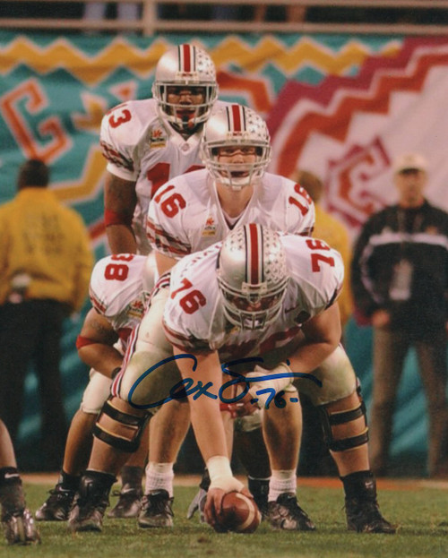Alex Stepanovich OSU 8-1 8x10 Autographed Photo - Certified Authentic