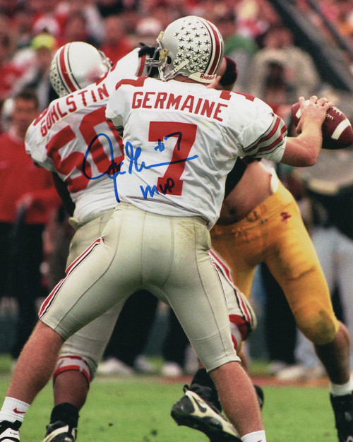 Joe Germaine OSU 8-5 8x10 Autographed Photo - Certified Authentic