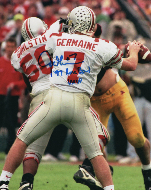 Joe Germaine OSU 8-7 8x10 Autographed Photo - Certified Authentic