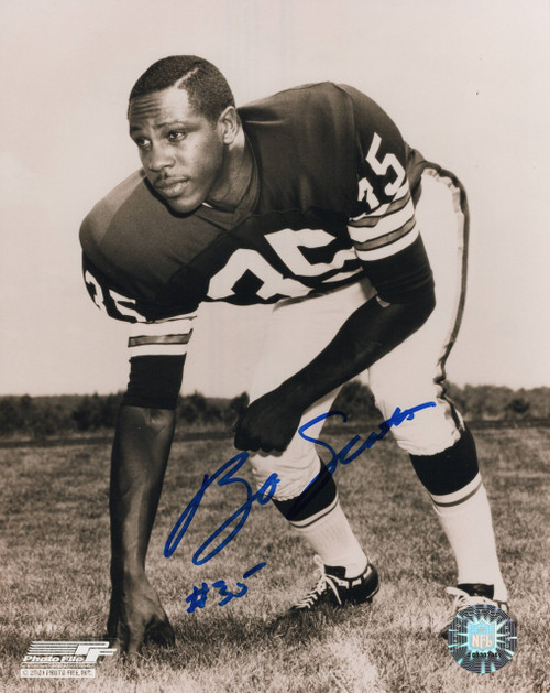 Bo Scott Cleveland Browns 8-1 8x10 Autographed Photo - Certified Authentic