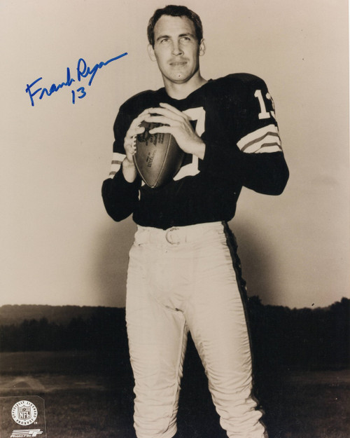 Frank Ryan Cleveland Browns 8-4 8x10 Autographed Photo - Certified Authentic