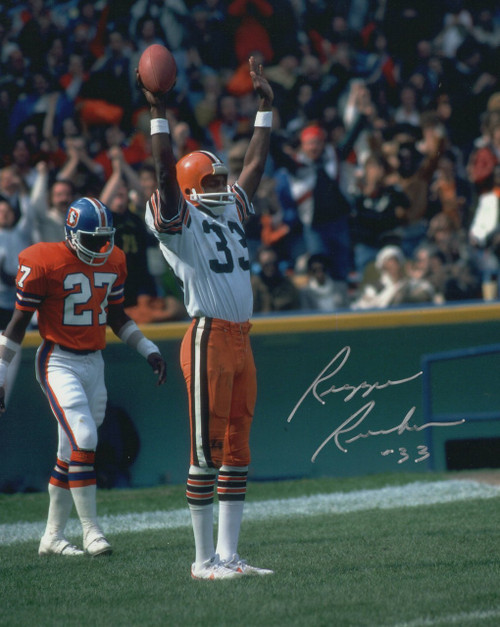 Reggie Rucker Cleveland Browns 8-3 8x10 Autographed Photo - Ceritified Authentic