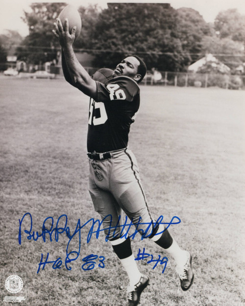 Bobby Mitchell Cleveland Browns 8-3 8x10 Autographed Photo - Certified Authentic
