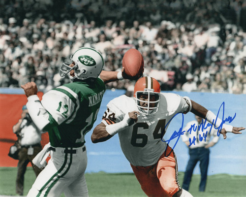 Turkey Jones Cleveland Browns 8-3 8x10 Autographed Photo - Certified Authentic