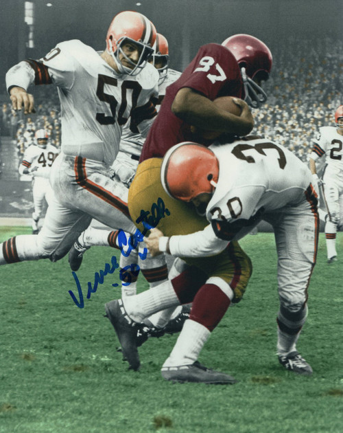 Vince Costello Cleveland Browns 8-12 8x10 Autographed Photo - Certified Authentic