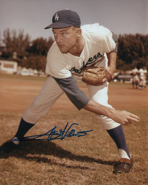 Stan Williams Los Angeles Dodgers 8-1 8x10 Autographed Photo - Certified Authentic