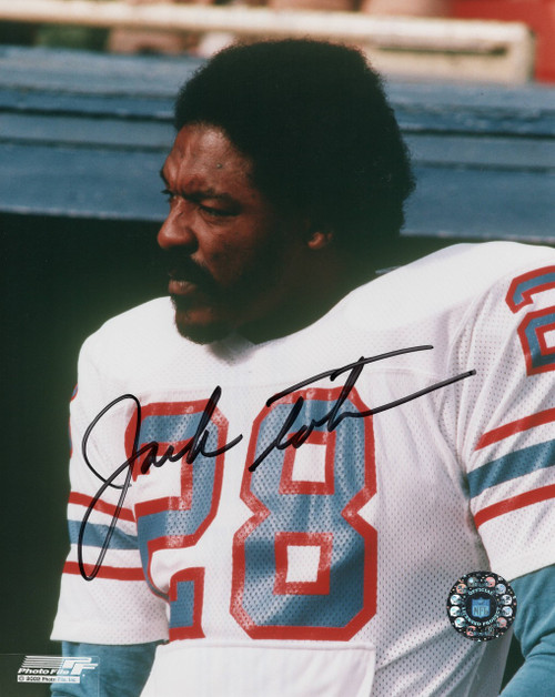 Jack Tatum Houston Oilers 8-1 8x10 Autographed Photo - Certified Authentic