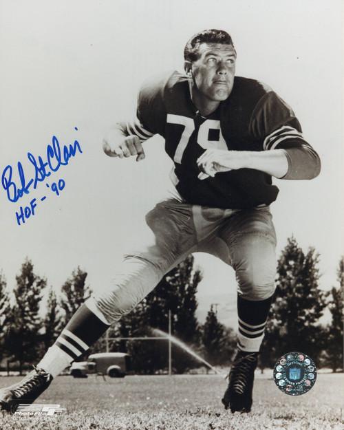 Bob St. Clair San Francisco 49ers 8-1 8x10 Autographed Photo - Certified Authentic