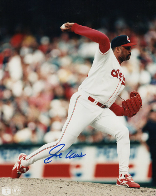 Jose Mesa Cleveland Indians 8-1 8x10 Autographed Photo - Certified Authentic
