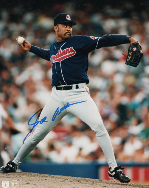 Jose Mesa Cleveland Indians 8-2 8x10 Autographed Photo - Certified Authentic