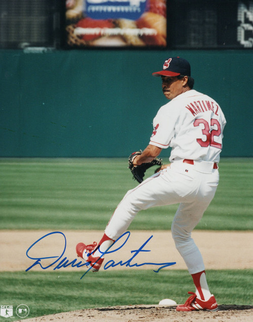 Dennis Martinez Cleveland Indians 8-2 8x10 Autographed Photo - Certified Authentic