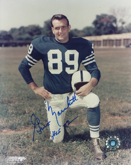 Gino Marchetti Baltimore Colts 8-2 8x10 Autographed Photo - Certified Authentic