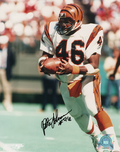 Pete Johnson Cincinnati Bengals 8-1 8x10 Autographed Photo - Certified Authentic