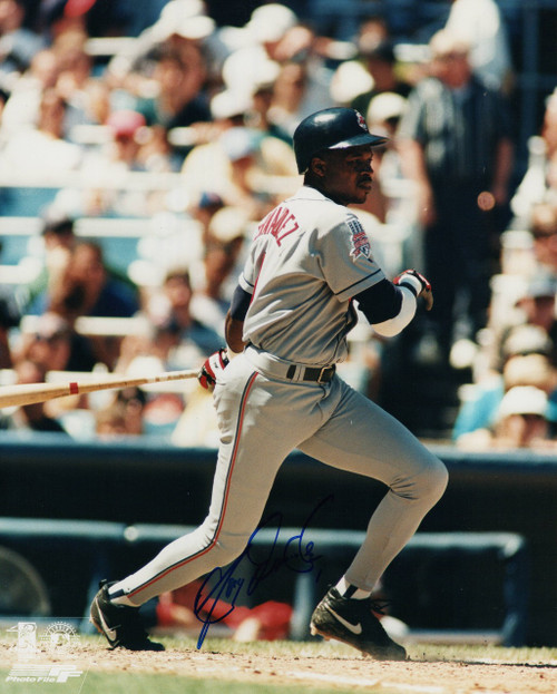 Tony Fernandez Cleveland Indians 8-1 8x10 Autographed Photo - Certified Authentic