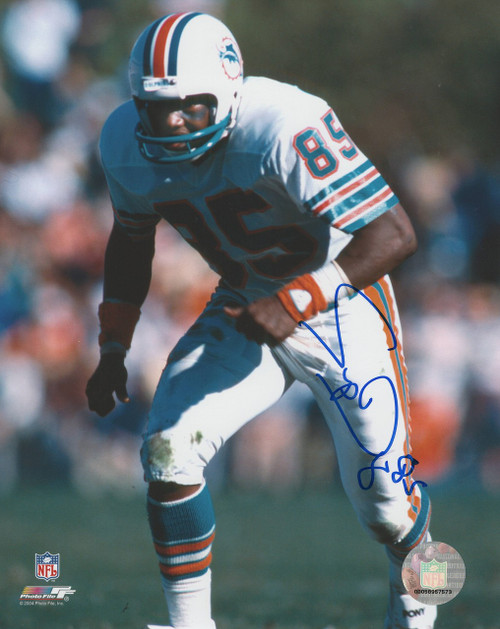 Mark Duper Miami Dolphins 8-1 8x10 Autographed Photo - Certified Authentic