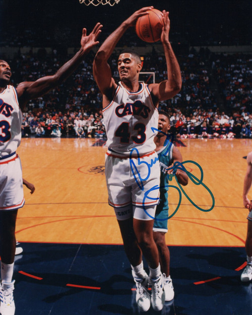 Brad Daugherty Cleveland Cavaliers 8-1 8x10 Autographed Photo - Certified Authentic