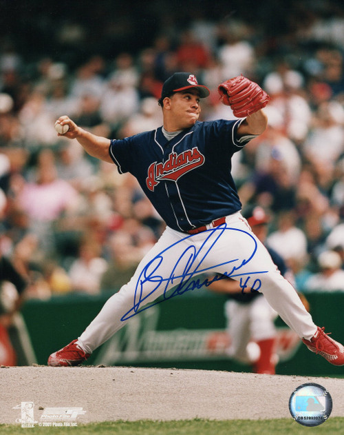 Bartolo Colon Cleveland Indians 8-1 8x10 Autographed Photo - Certified Authentic