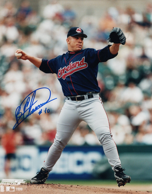 Bartolo Colon Cleveland Indians 8-2 8x10 Autographed Photo - Certified Authentic