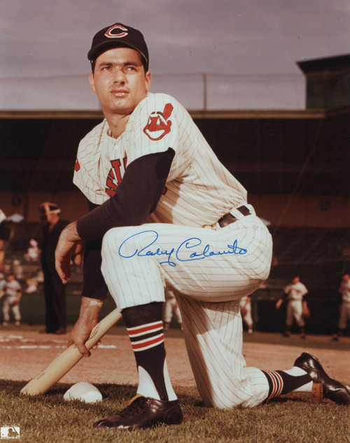 Rocky Colavito Cleveland Indians 8-1 8x10 Autographed Photo - Certified Authentic