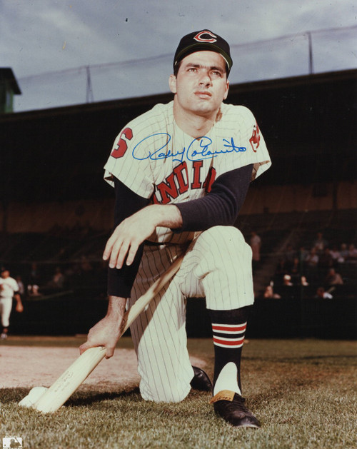 Rocky Colavito Cleveland Indians 8-2 8x10 Autographed Photo - Certified Authentic