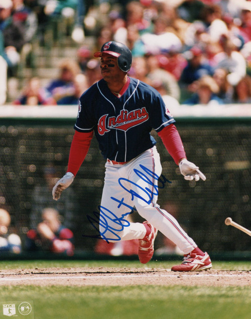 Albert Belle Cleveland Indians 8-1 8x10 Autographed Photo - Certified Authentic