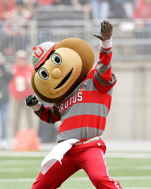 Brutus Buckeye Ohio State Buckeyes Licensed Unsigned Photo (2)