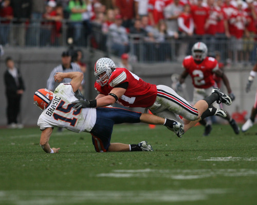 AJ Hawk Ohio State Buckeyes Licensed Unsigned Photo (3)