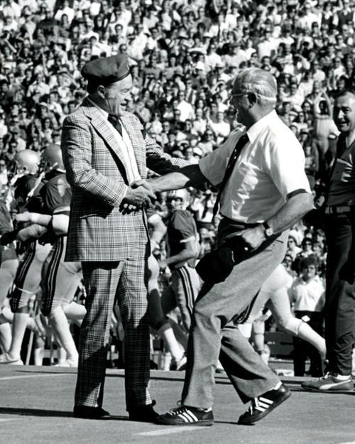 Woody Hayes & Bob Hope Ohio State Buckeyes Licensed Unsigned Photo