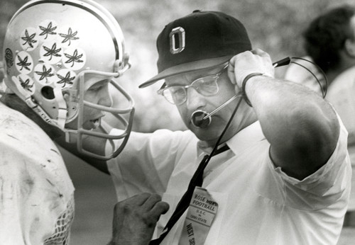 Woody Hayes & Rex Kern Ohio State Buckeyes Licensed Unsigned Photo