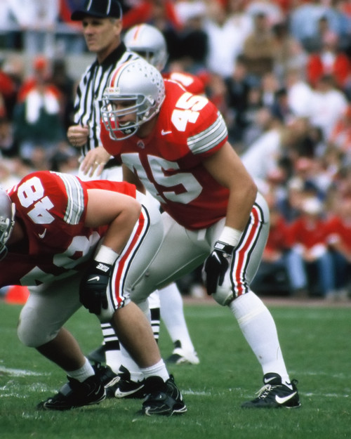 Andy Katzenmoyer Ohio State Buckeyes Licensed Unsigned Photo