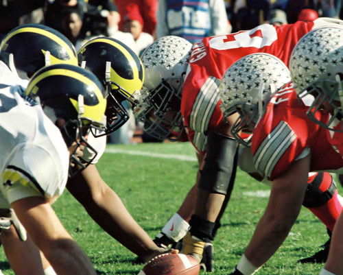 Line Ohio State Buckeyes Licensed Unsigned Photo
