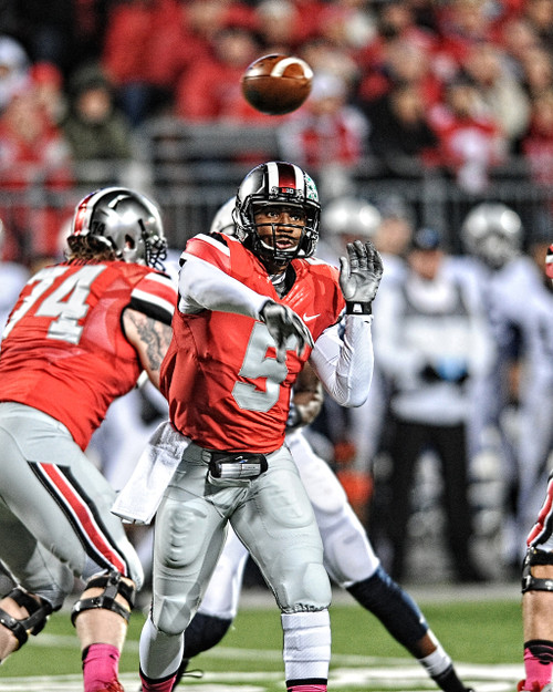 Braxton Miller Ohio State Buckeyes Licensed Unsigned Photo